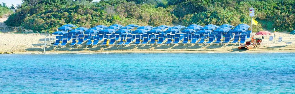 Camping by the sea in Porto Cesareo