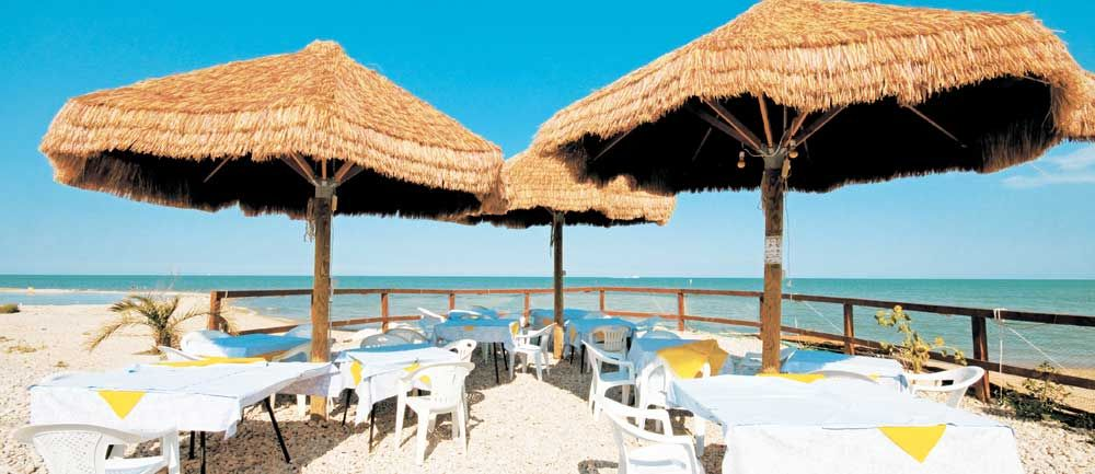 Camping Village am Meer, Abruzzen