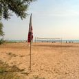 Strand von Camping in Vieste