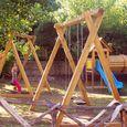 Camping mit Kinderspielplatz, ideal für Familien