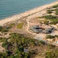 Veduta aerea del Camping Golfo dell'Asinara