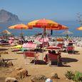 La plage du Camping Village El Bahira