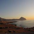 La mer au coucher du soleil