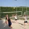 Beach Volley nel campeggio