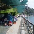 Camping with Bungalow on the Sea in Moneglia