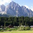 Camping a Sappada, Veneto