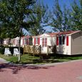 Mobile Homes DELUXE with wooden terrace