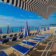 Spiaggia attrezzata a Pietra Ligure