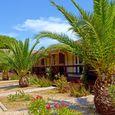 Touristisches Dorf auf dem Meer in Orbetello, Grosseto