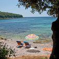 La spiaggia del campeggio Porto Sole