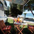 Piazzole sul mare del camping Porto Sole