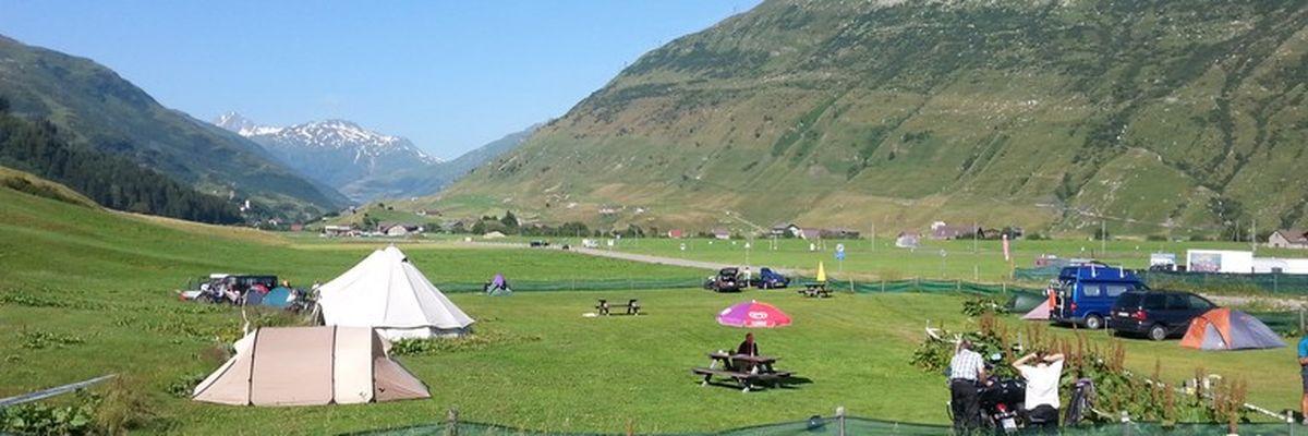 Gotthard Camping Andermatt