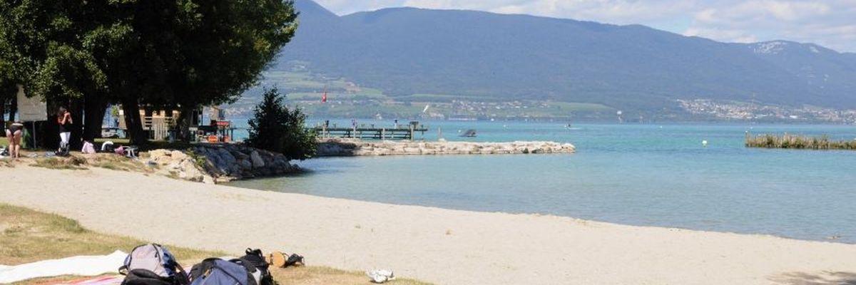Camping la Nouvelle Plage d'Estavayer-le-Lac