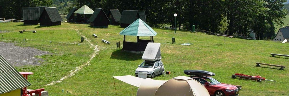 Auto camp kod Boce