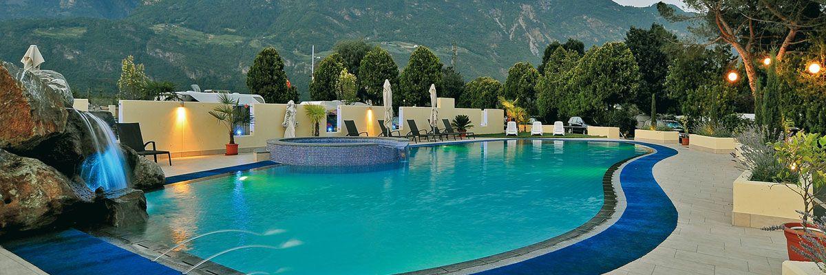 Schlosshof Luxury Camping Resort Merano