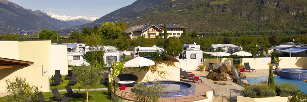 Schlosshof Luxury Camping Resort Merano
