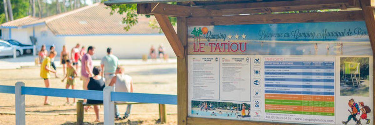 Camping Municipal Le Tatiou