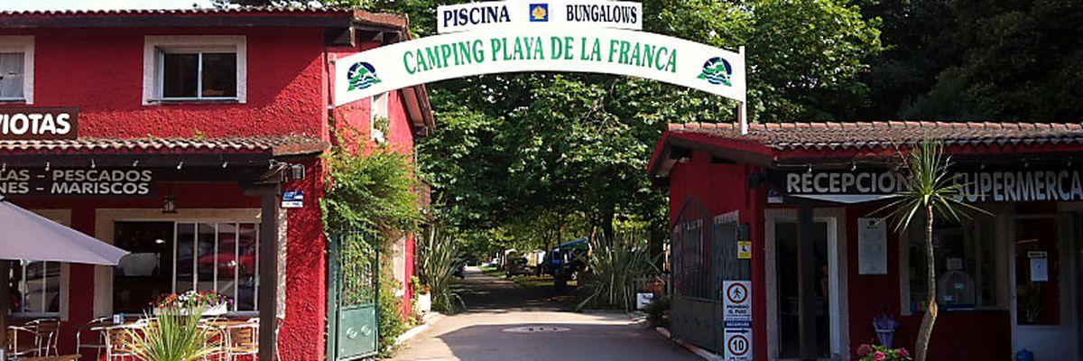 Camping Playa de la Franca