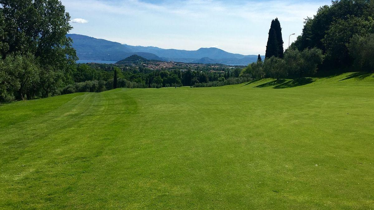 Campo da golf sul Lago di Garda