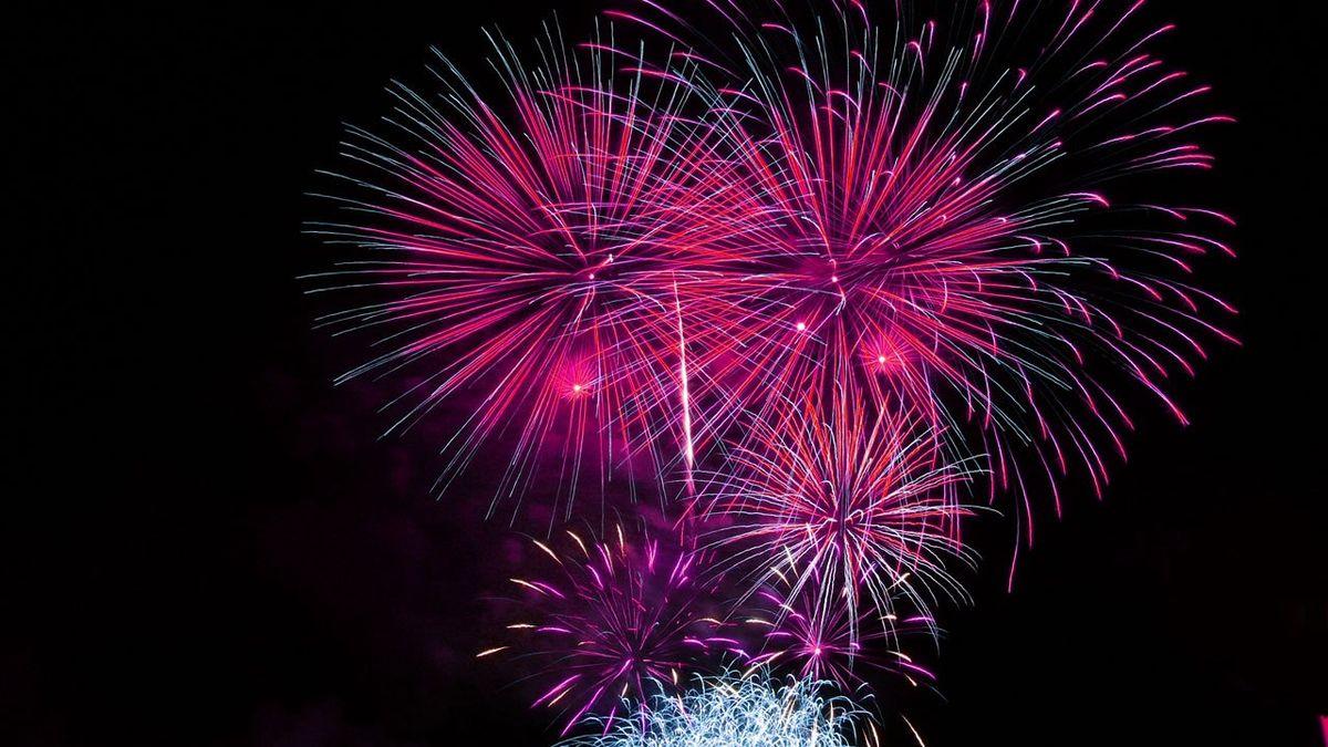 Fuochi d'artificio in Romagna