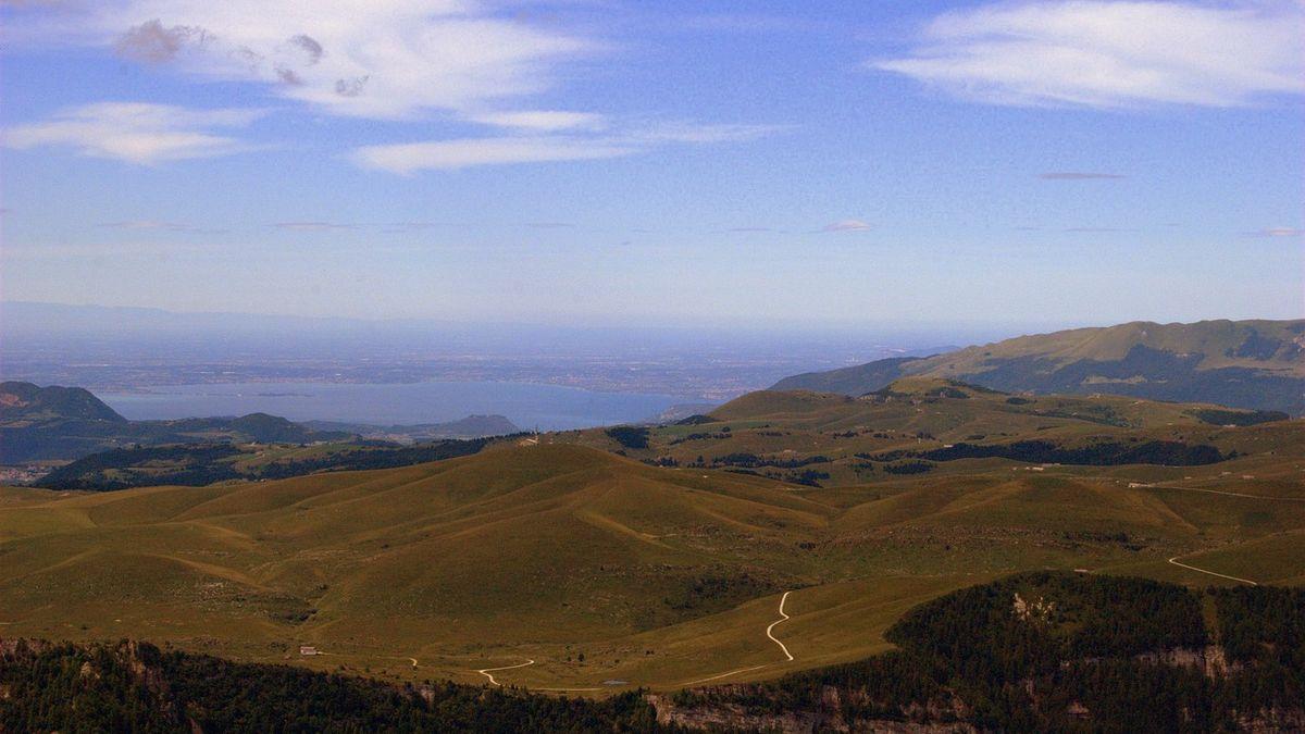 Lago di Garda dall'alto