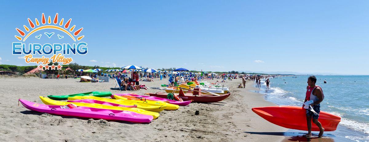 Spiaggia nel Lazio