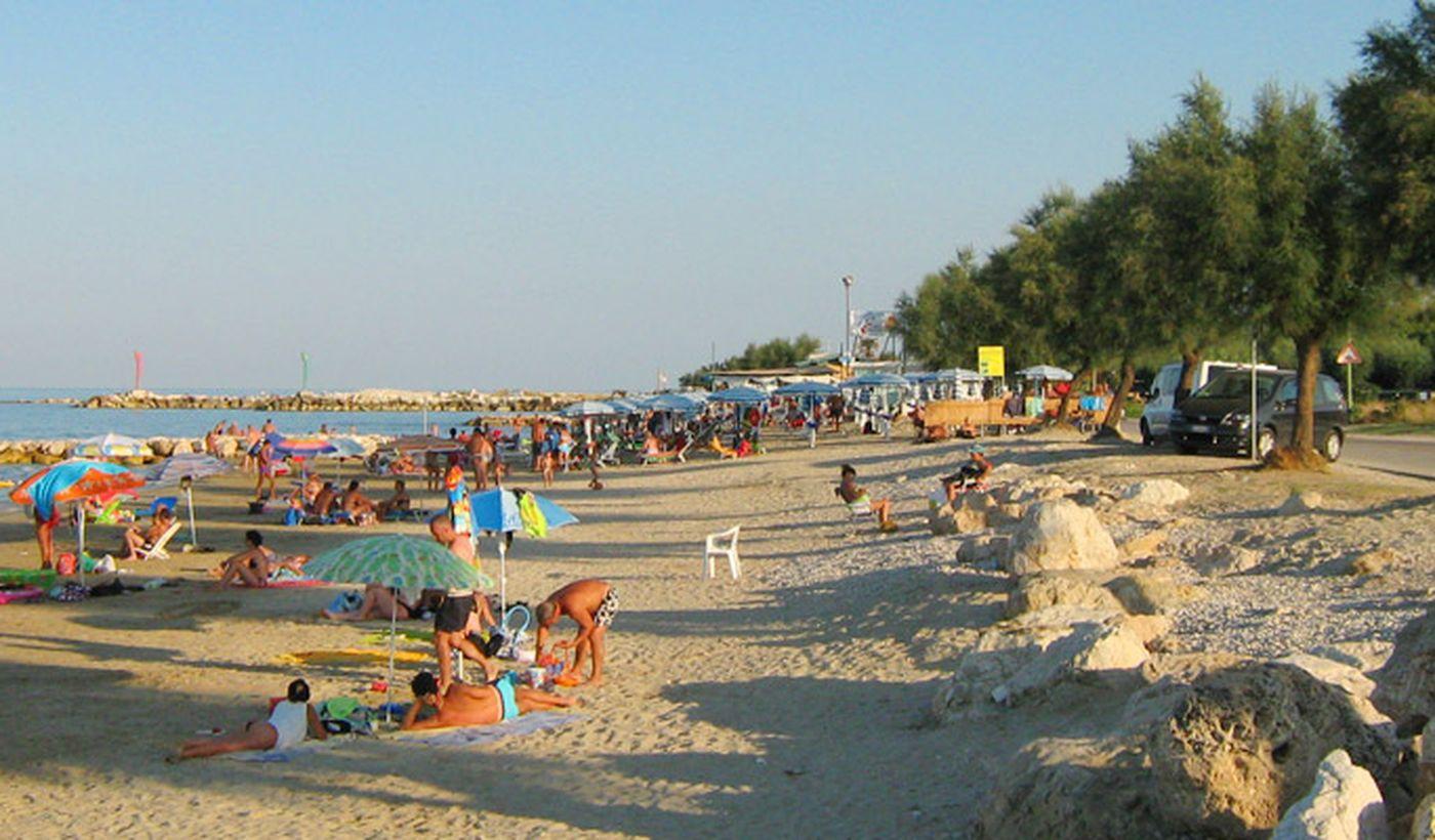 Strand Camping Arcobaleno