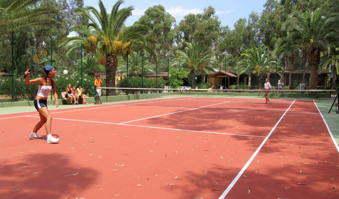 Tennis Spielplatz