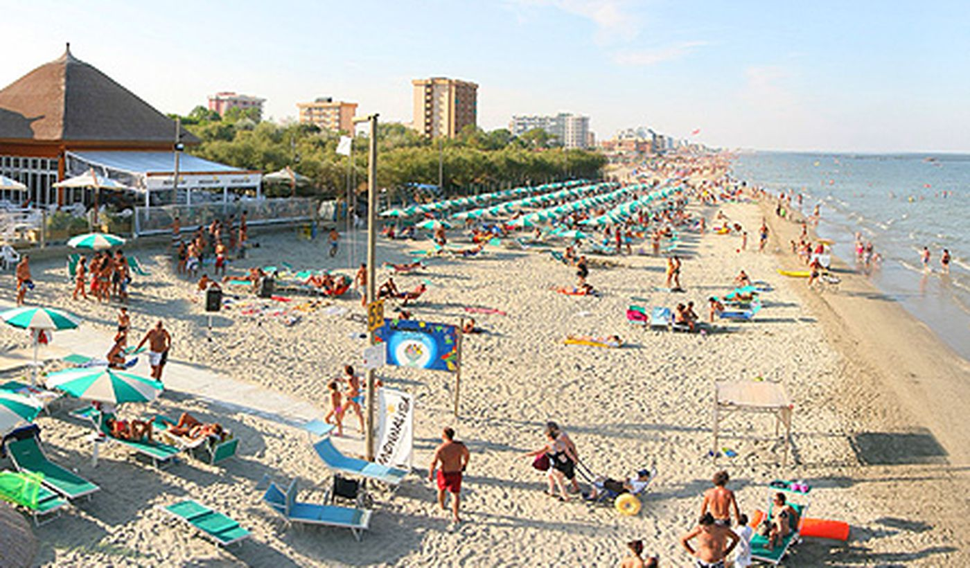 Strand von Comacchio