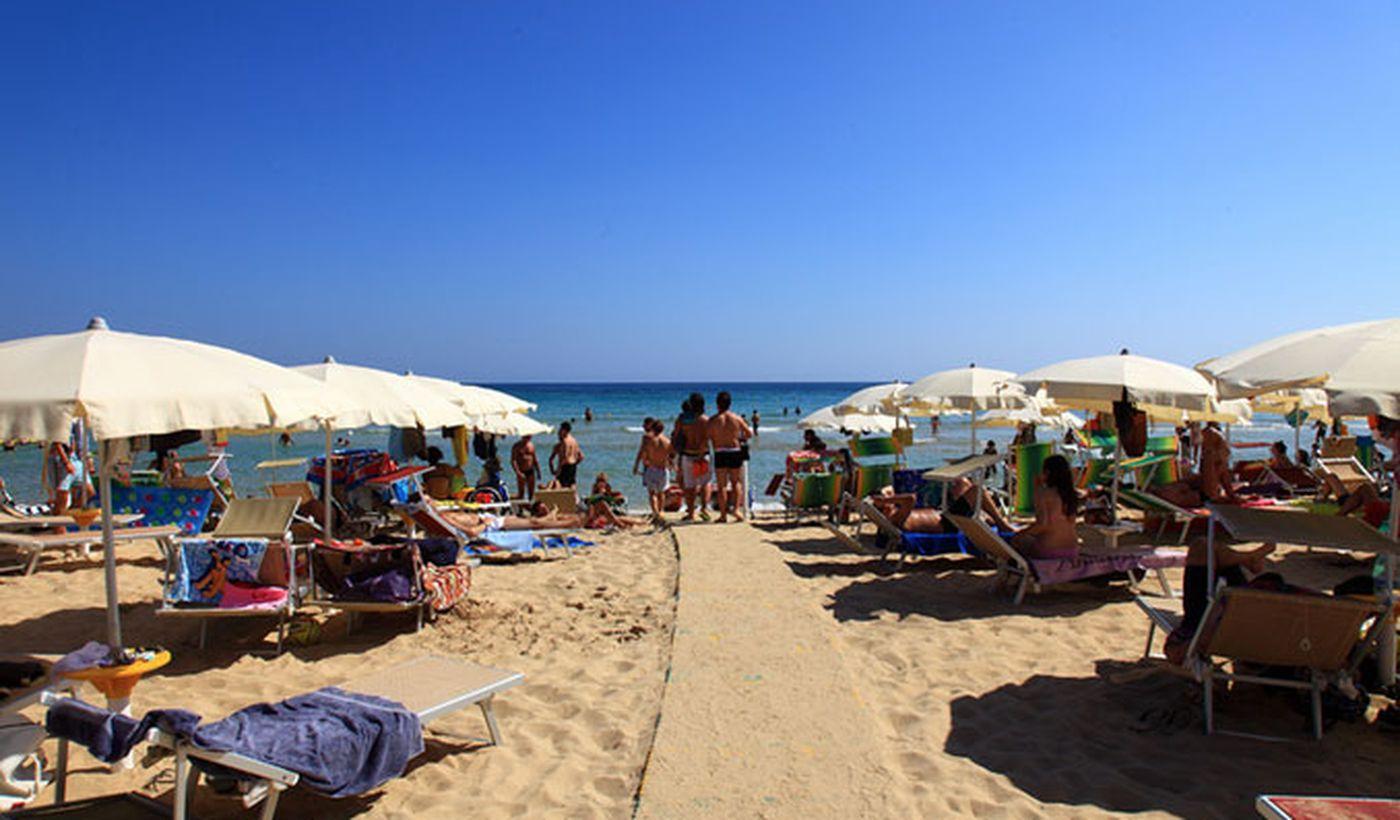 Playa en Puglia