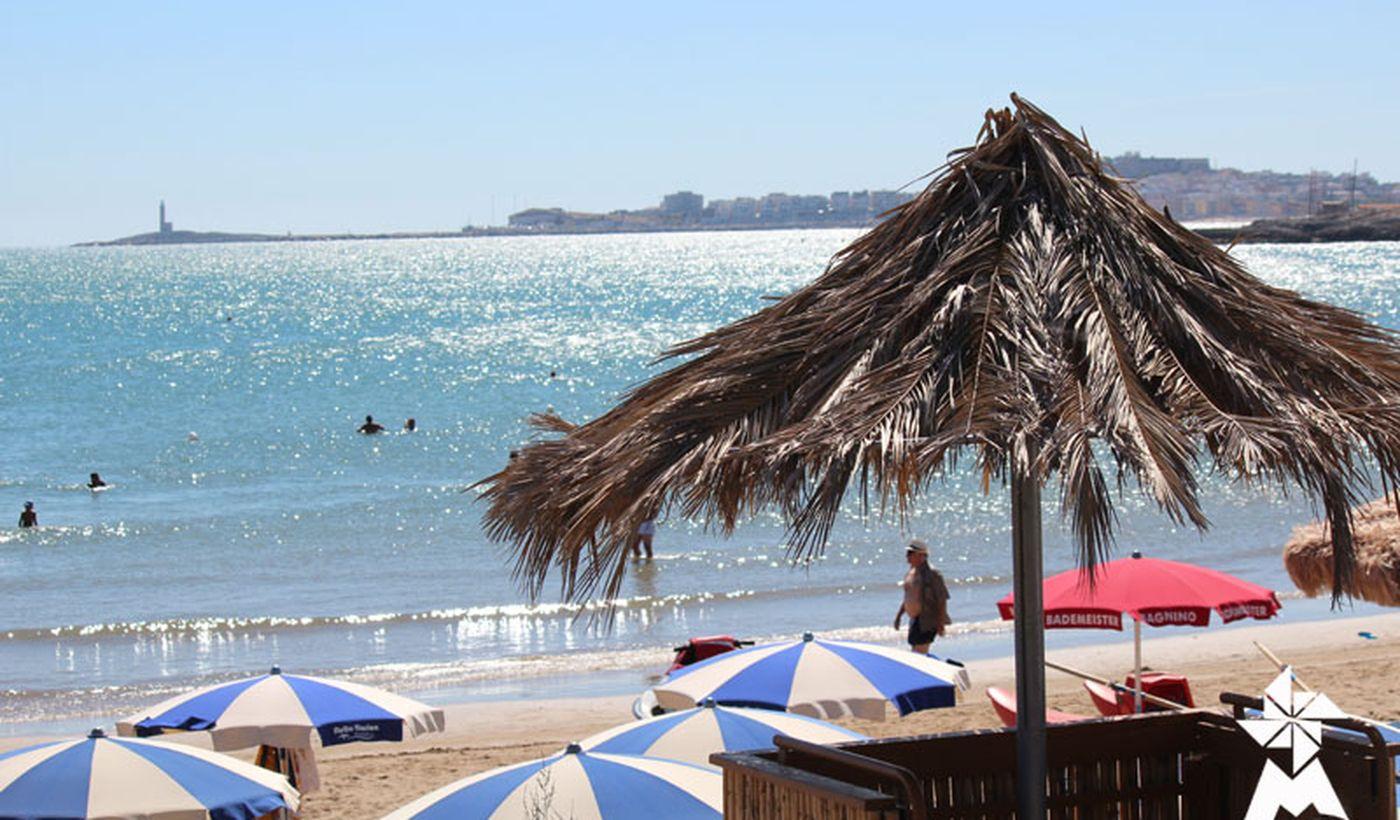 Strand in Apulien