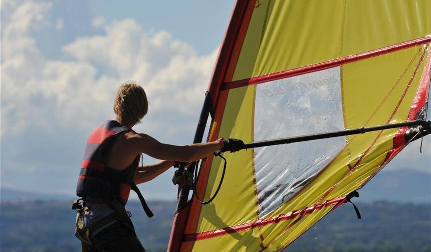 Windsurf sul Lago di Bolsena