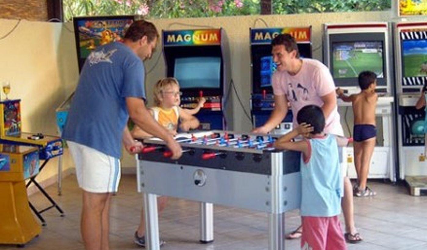 La Sala giochi del camping village