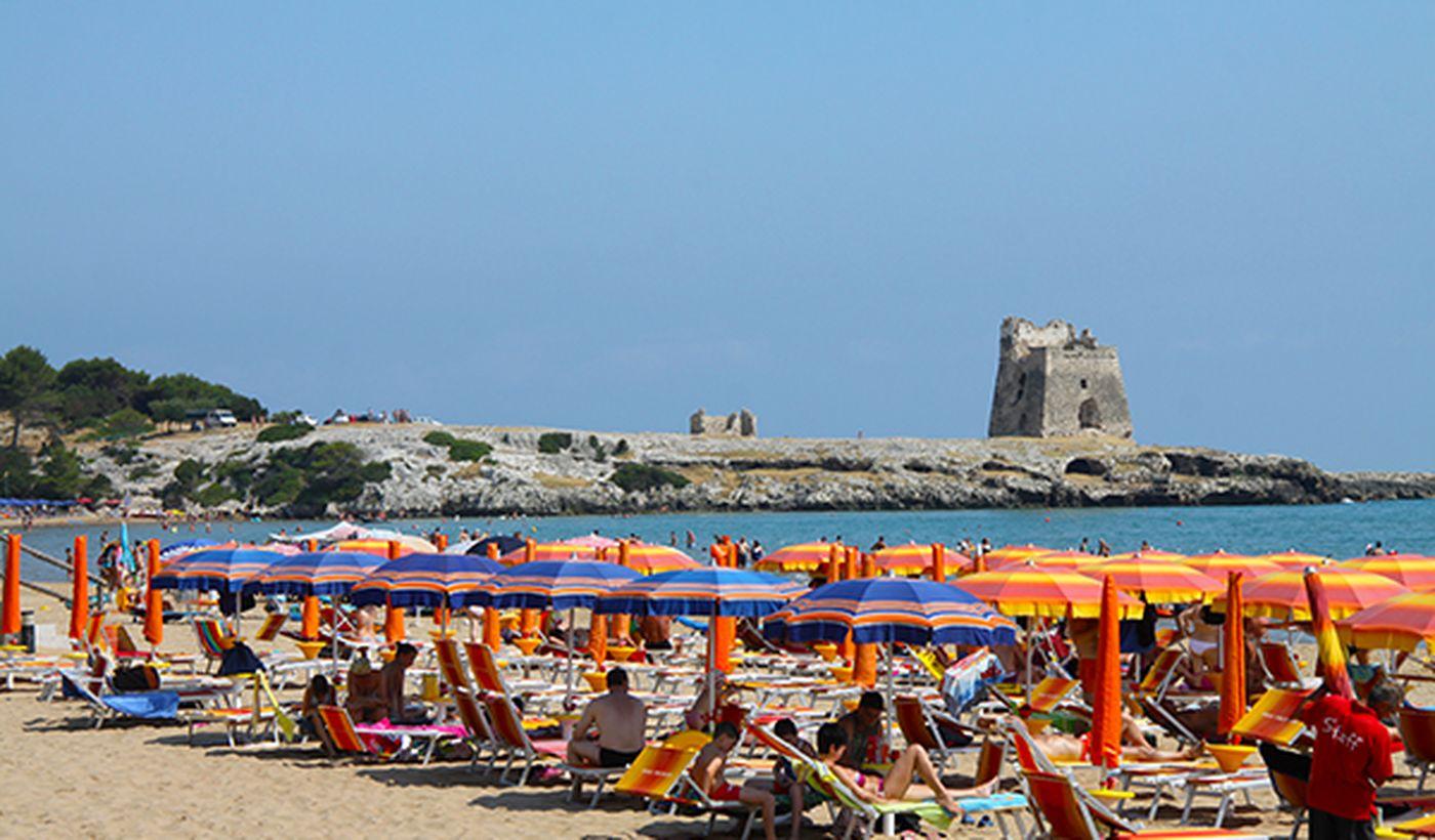 Spiaggia in Puglia