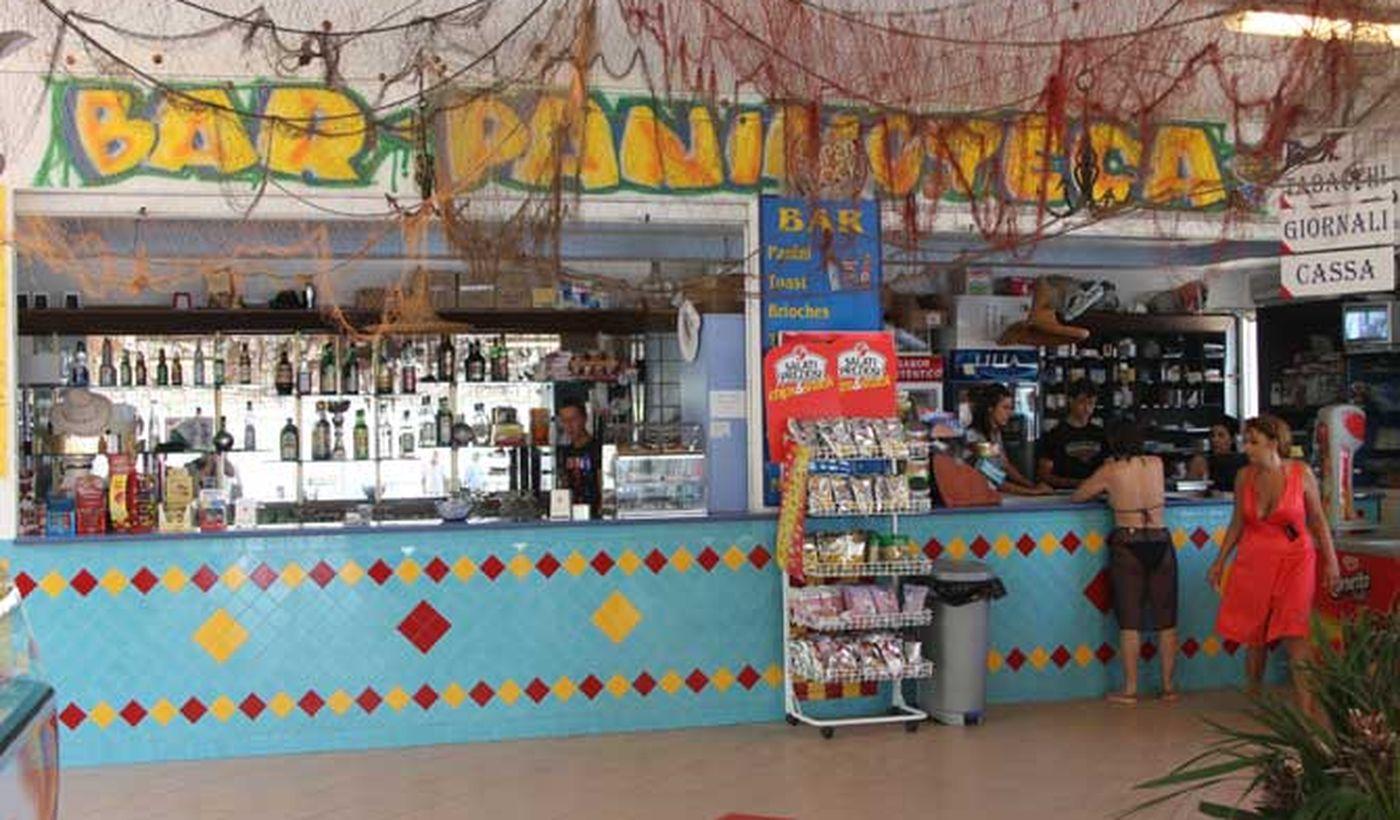 Il Bar del centro turistico