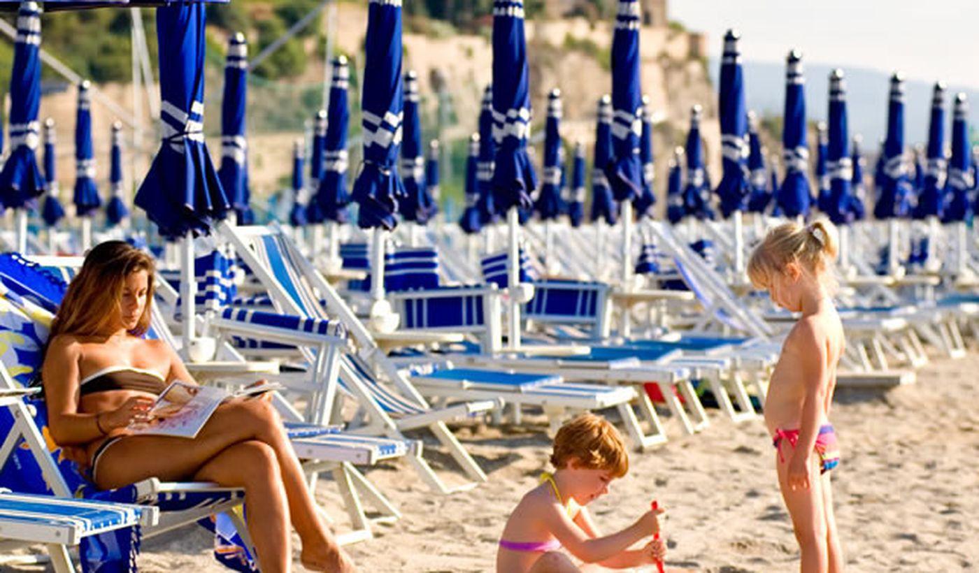 La Spiaggia del Camping Baciccia