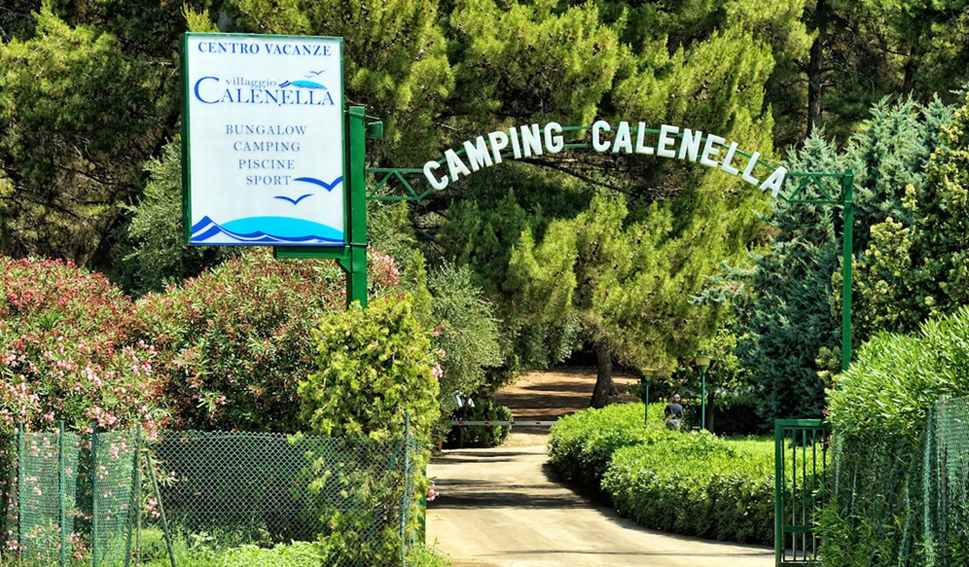 Camping Calenella in Apulien