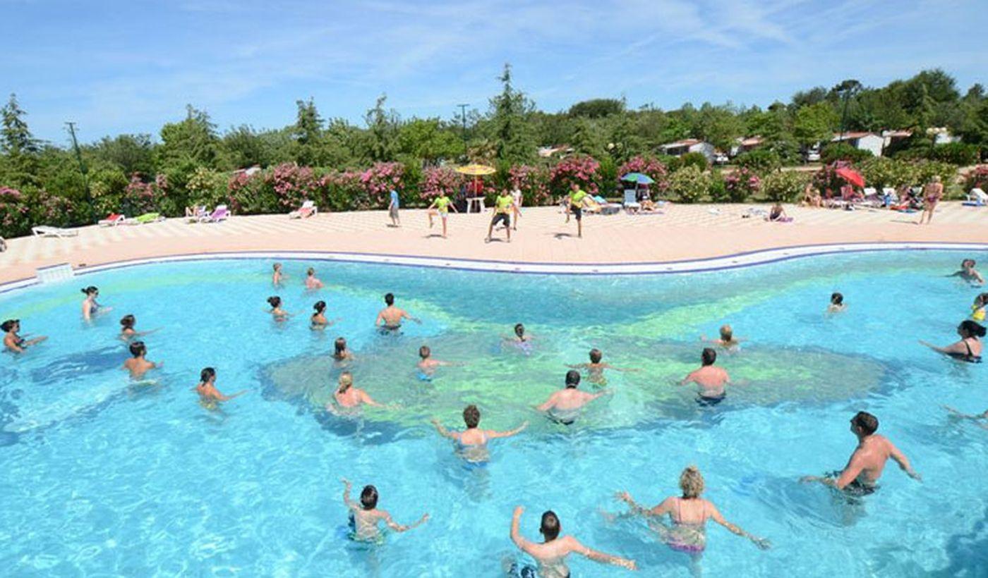 Camping Village con piscina in Croazia