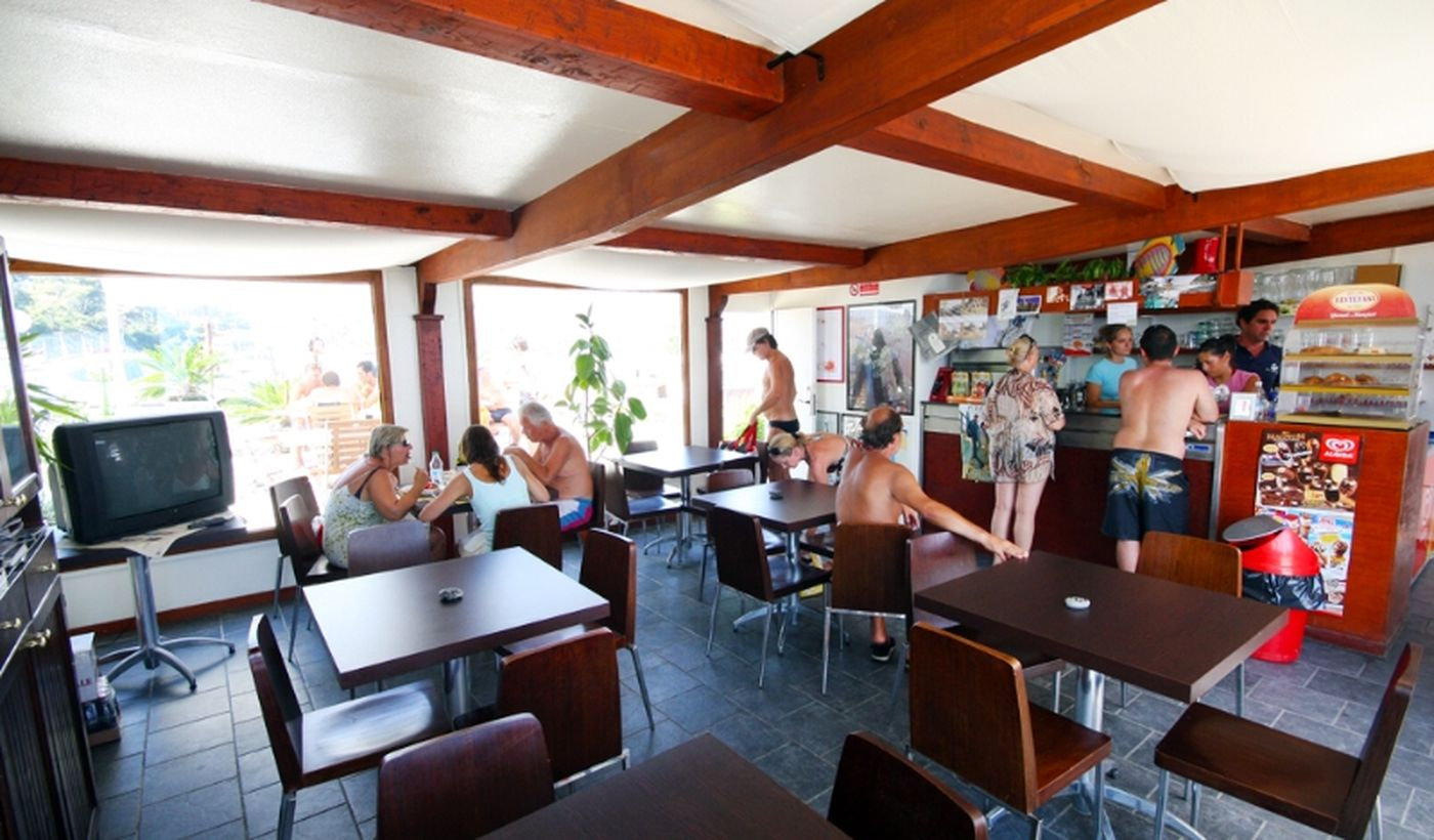 Bar des Ferienparks