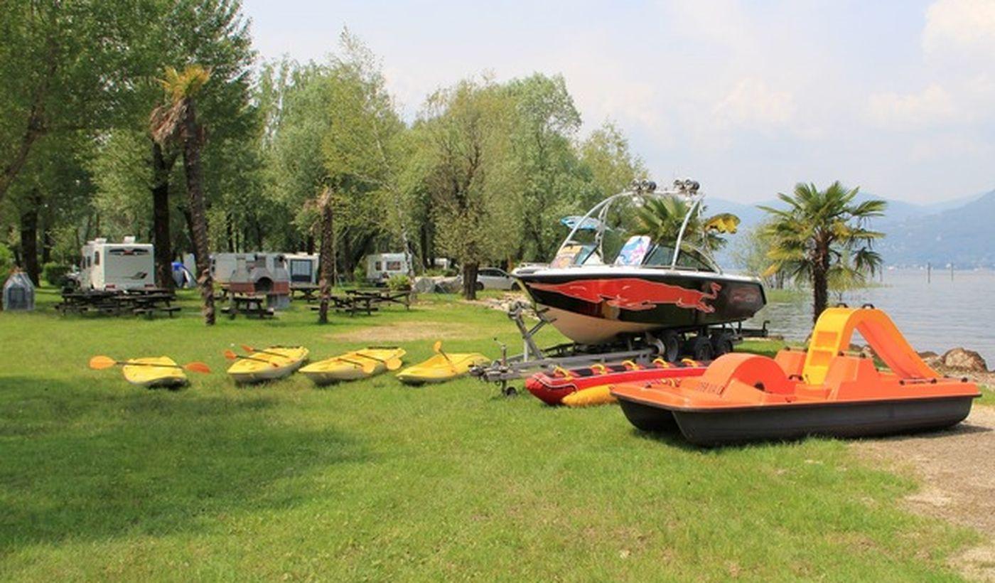Camping International Ispra, Lac Majeur