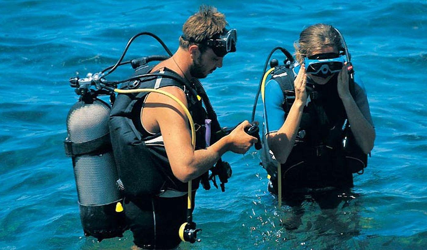 Centro Scuba diving del Camping Orsera