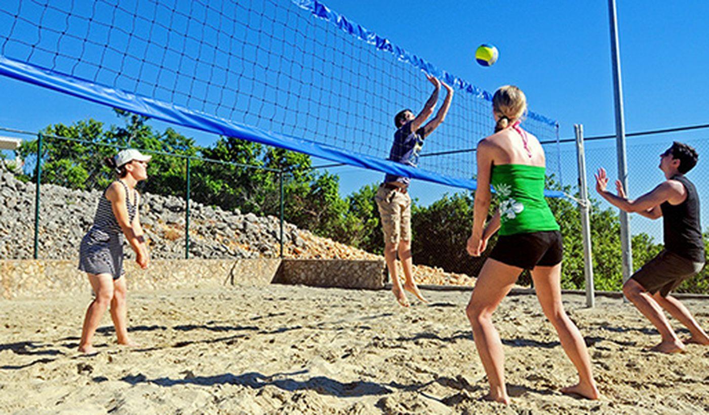 Beach Volley sulla spiaggia