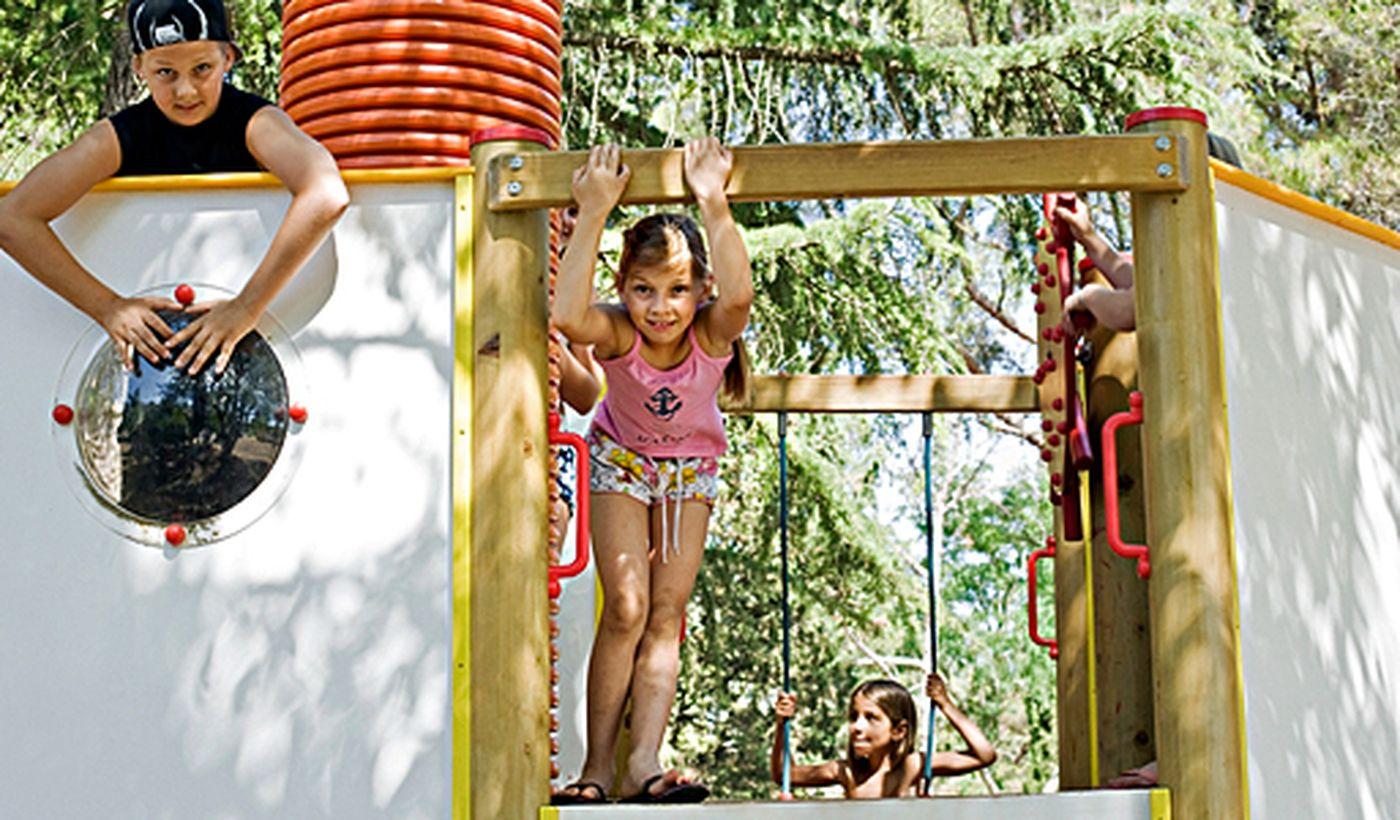Campeggio per famiglie con bambini, Croazia