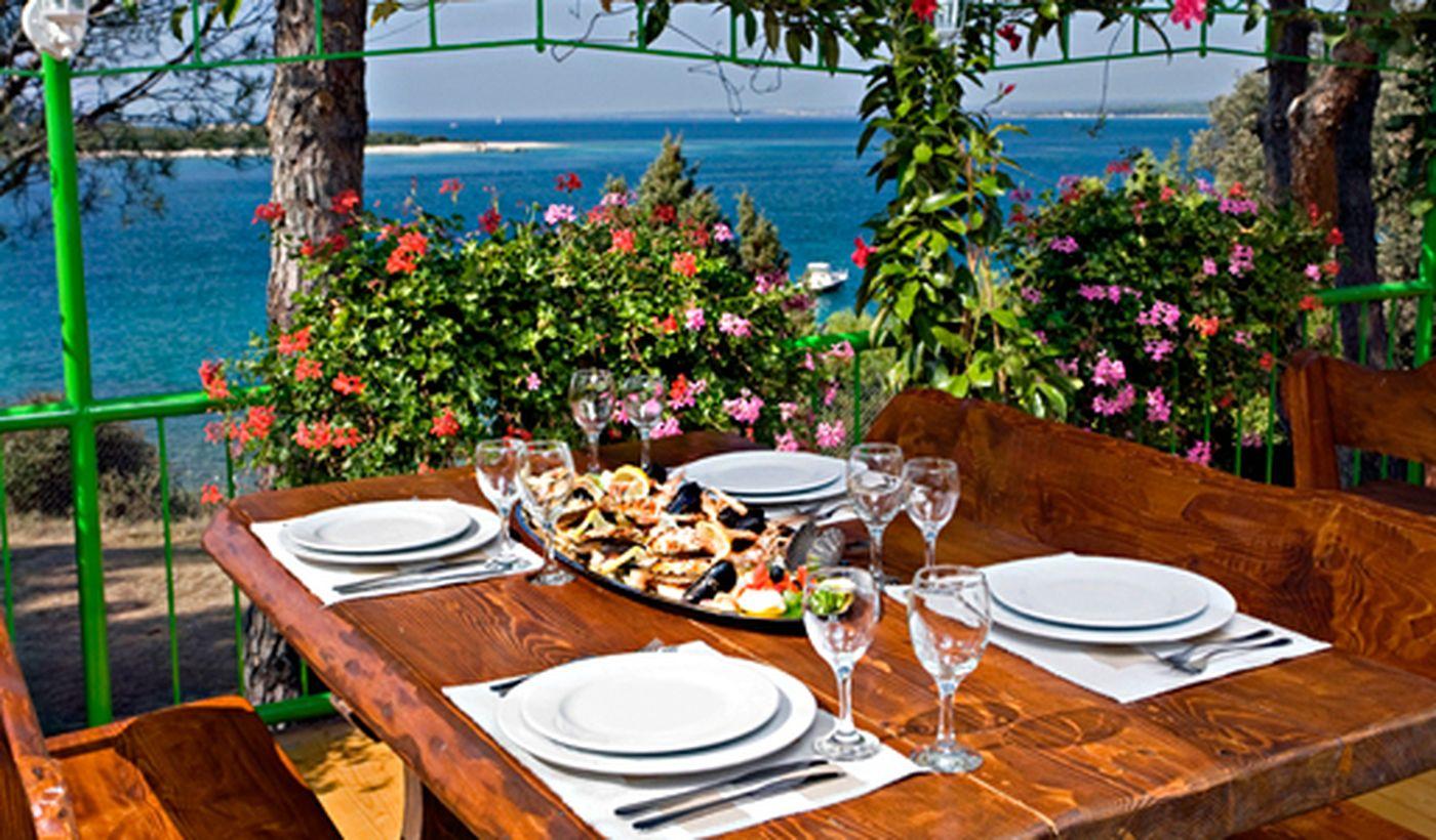 Campeggio con ristorante in Croazia