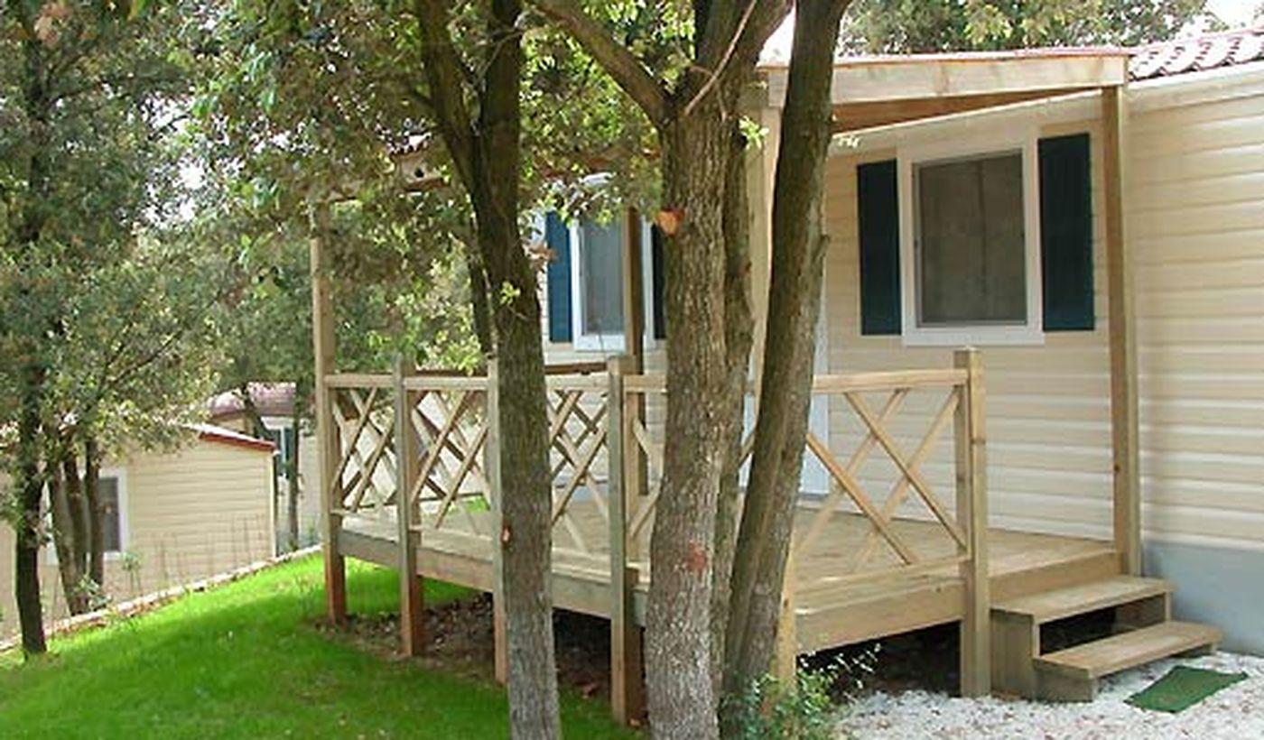 Campeggio con case mobili in Croazia