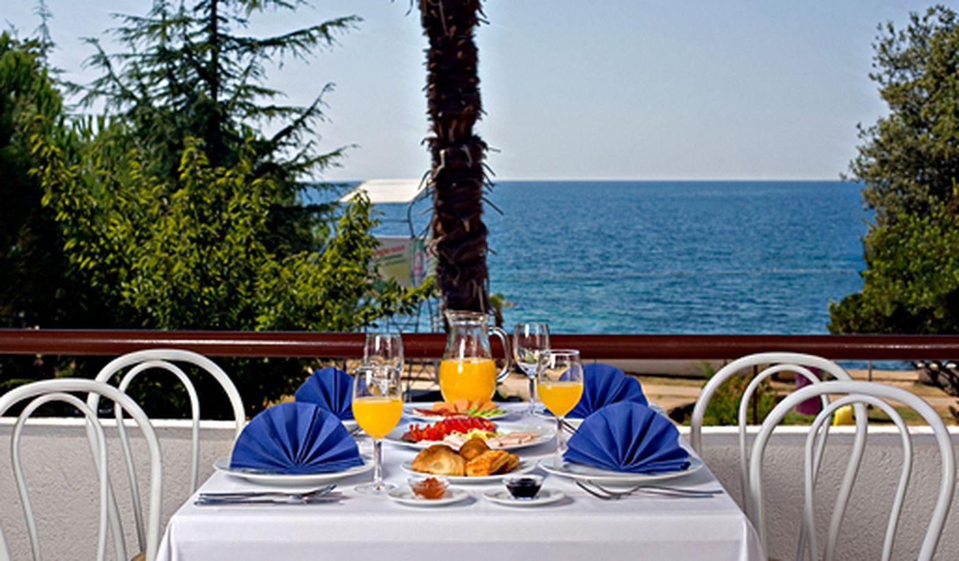 Campeggio in Croazia con ristorante