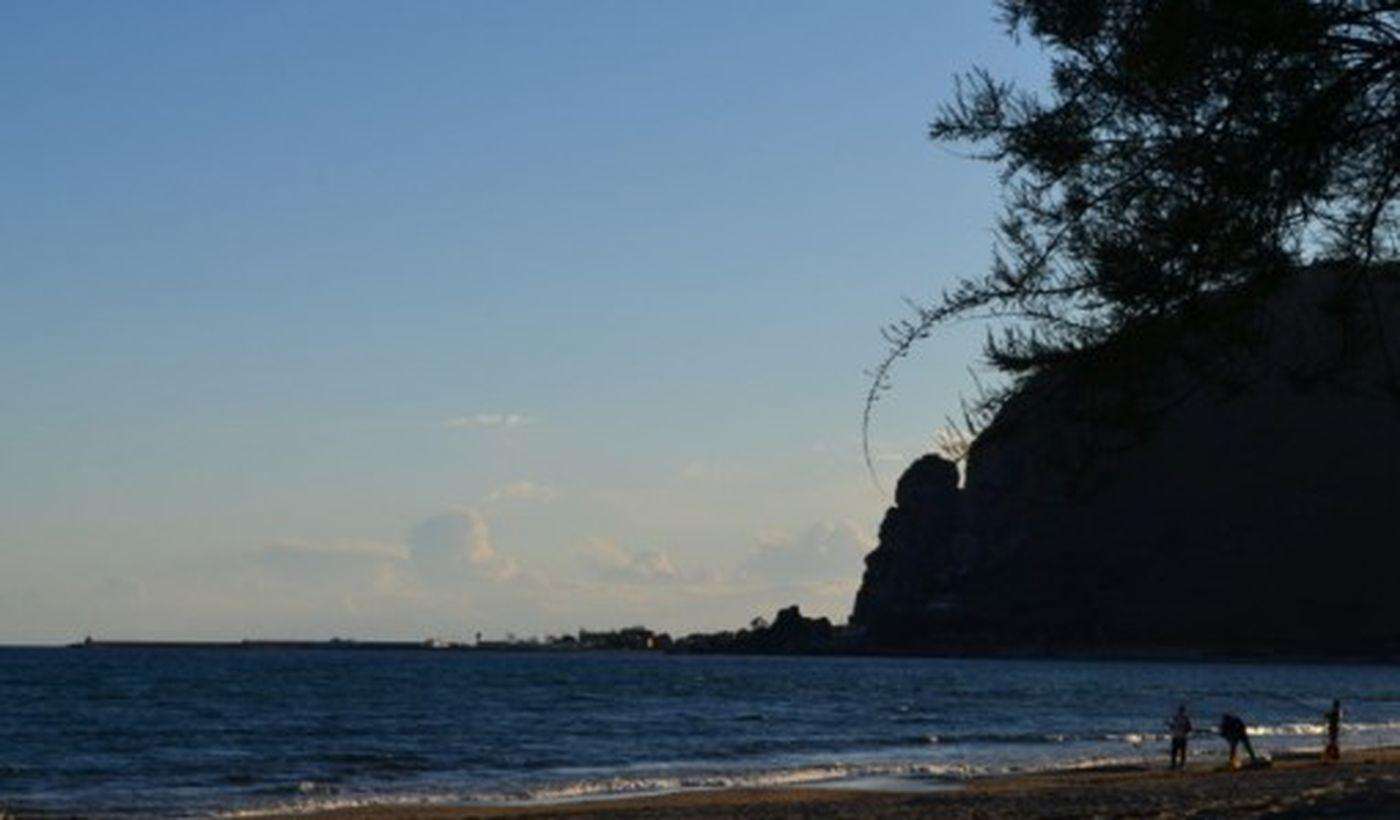 La spiaggia del Camping Village Barchi