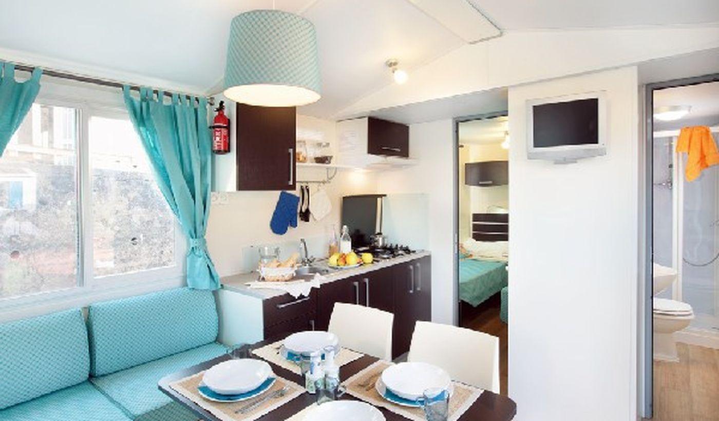 Mobile Home in Camping in der Toskana