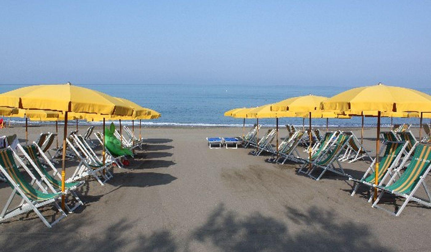 Camping am Meer in der Toskana