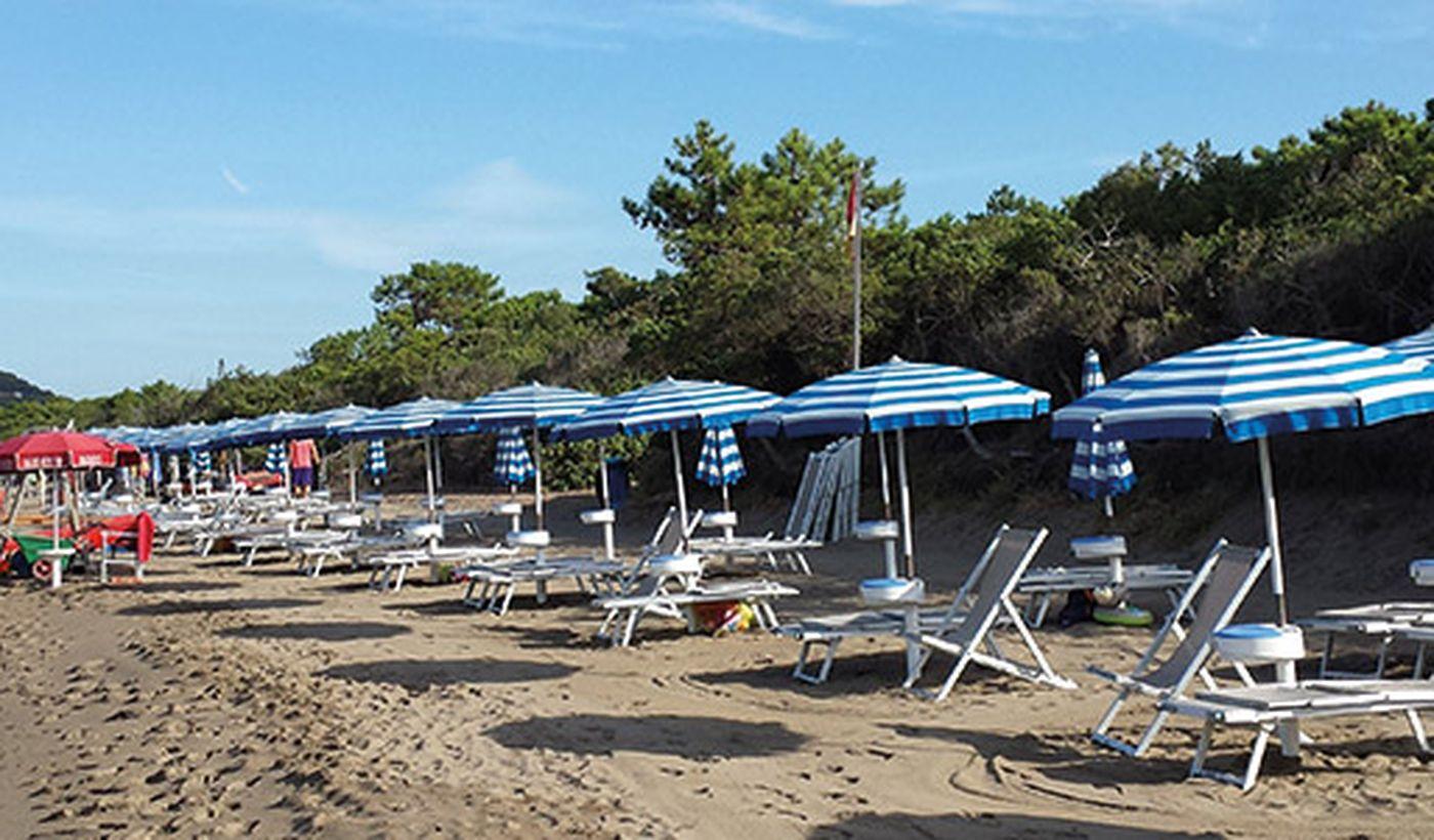 La Spiaggia del Campeggio Acapulco